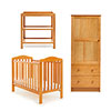 LUDLOW 3 PIECE ROOM SET - COUNTRY PINE