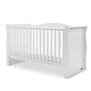 INGHAM SLEIGH COT BED - WHITE