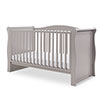 INGHAM SLEIGH COT BED - WARM GREY