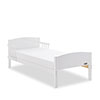 OBABY HEART TODDLER BED - WHITE