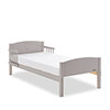 OBABY HEART TODDLER BED - WARM GREY