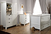 STAMFORD COT BED 3 PIECE ROOM SET - WHITE