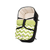 ZEAL CARRYCOT - ZIGZAG LIME