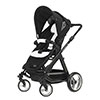 CONDOR 4S (BLACK CHASSIS) - WHITE/BLACK (FREE CAR SEAT)