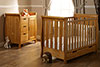 LINCOLN MINI COT BED 2 PIECE ROOM SET - COUNTRY PINE