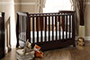 LINCOLN MINI SLEIGH COT BED - WALNUT