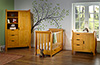 STAMFORD MINI COT BED 3 PIECE ROOM SET - COUNTRY PINE