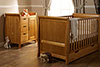 LINCOLN COT BED 2 PIECE ROOM SET - COUNTRY PINE