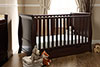 LINCOLN SLEIGH COT BED - WALNUT