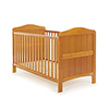 OBABY WHITBY COT BED - COUNTRY PINE (FREE FOAM MATTRESS)