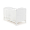 WHITBY COT BED - WHITE (FREE FOAM MATTRESS)
