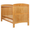GRACE COT BED - COUNTRY PINE (FREE FIBRE MATTRESS)