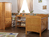 GRACE 3 PIECE ROOM SET - COUNTRY PINE