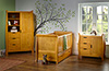STAMFORD COT BED 3 PIECE ROOM SET - COUNTRY PINE