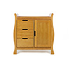 LINCOLN SLEIGH CHANGING UNIT - COUNTRY PINE