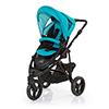 ABC DESIGN COBRA PUSHCHAIR (BLACK CHASSIS) - CORAL
