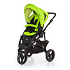 ABC DESIGN COBRA PUSHCHAIR (BLACK CHASSIS) - LIME