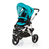 ABC DESIGN COBRA PUSHCHAIR (SILVER CHASSIS) - CORAL