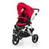 ABC DESIGN COBRA PUSHCHAIR (SILVER CHASSIS) - CRANBERRY