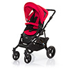 ABC DESIGN MAMBA PUSHCHAIR (BLACK CHASSIS) - CRANBERRY