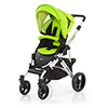 ABC DESIGN MAMBA PUSHCHAIR (SILVER CHASSIS) - LIME