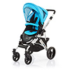 ABC DESIGN MAMBA PUSHCHAIR (SILVER CHASSIS) - RIO
