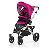 ABC DESIGN MAMBA PUSHCHAIR (SILVER CHASSIS) - GRAPE