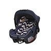 GROUP 0+ INFANT CAR SEAT - ZIGZAG NAVY